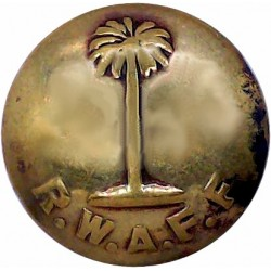 Royal Corps Of Signals (with Lettering) 24mm - 1920-1947 Brass Military uniform button