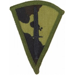 Commando Dagger (Commando Trained Soldiers) On DPM Camouflage  Embroidered Army cloth trade badge