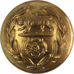 Royal Hampshire Regiment 25mm  Brass Military uniform button
