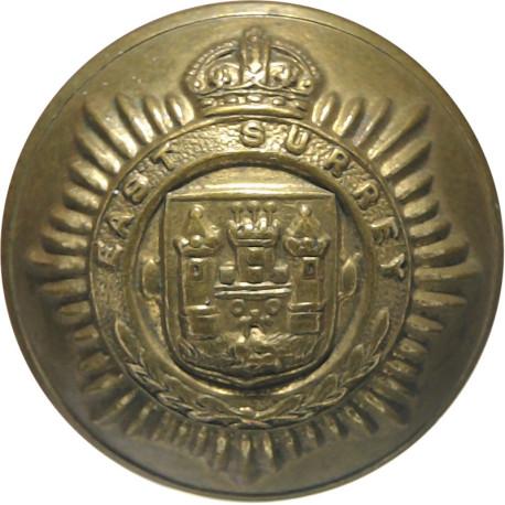 Scots Guards 22mm with Queen Elizabeth's Crown. Gilt Military uniform button