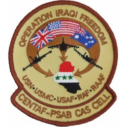 Close Air Support Cell CENTAF Op Iraqi Freedom PrinceSultan AirBase  Embroidered Air Force Badge