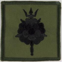 611 (West Lancashire) Squadron RAF Reserve Black On Olive Large  Embroidered Air Force Badge