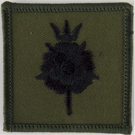 611 (West Lancashire) Squadron RAF Reserve Black On Olive Small  Embroidered Air Force Badge