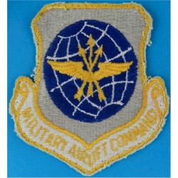 Military Airlift Command - USAF Colour  Embroidered United States Air Force insignia