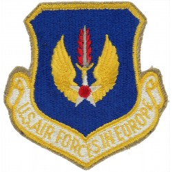 US Air Forces in Europe Colour  Embroidered United States Air Force insignia