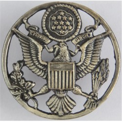United States Air Force Cap Badge Enlisted Ranks  Pewter United States Air Force insignia