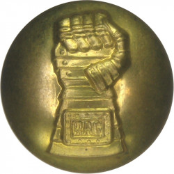 Royal Armoured Corps (Fist) 19mm  Brass Military uniform button