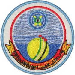 United Arab Emirates: Minhad Air Base - Dubai Colour On Velcro  Embroidered Foreign Air Force insignia
