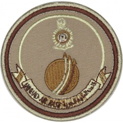 United Arab Emirates: Minhad Air Base - Dubai Subdued On Velcro  Embroidered Foreign Air Force insignia