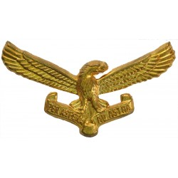 South African Air Force Cap Badge Post-1959  Brass Foreign Air Force insignia