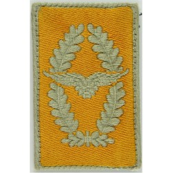 German Air Force - Wings In Wreath - Collar Tab Other Ranks  Embroidered Foreign Air Force insignia