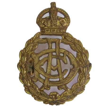 Army Dental Corps Pre-1948 with King's Crown. Brass Other Ranks' collar badge
