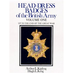Head-Dress Badges Of The British Army Vol.1 - 1st Ed Ex-Library Good Cond   Insignia Reference Book