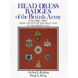 Head-Dress Badges Of The British Army Vol.2 - 1st Ed Ex-Library Good Cond   Insignia Reference Book