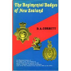 Regimental Badges Of New Zealand DA Corbett   Insignia Reference Book