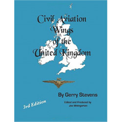 Civil Aviation Wings Of The United Kingdom - 3rd Edn Gerry Stevens   Insignia Reference Book
