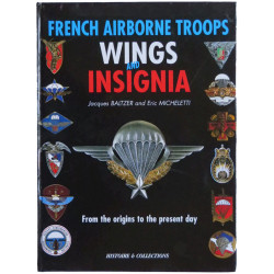 French Airborne Troops Wings And Insignia Baltzer & Micheletti   Insignia Reference Book
