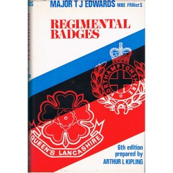 Regimental Badges - 6th Edition Maj TJ Edwards 1974   Insignia Reference Book
