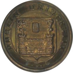 Dublin University Officers' Training Corps (No Crown 25mm - 1922-1935  Brass Military uniform button