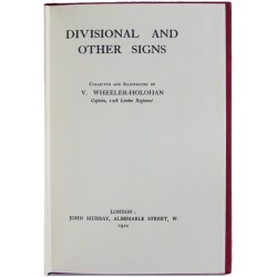 Divisional And Other Signs (1992 Re-Print) V Wheeler-Holohan   Insignia Reference Book