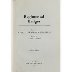 Regimental Badges - 5th Edition Maj TJ Edwards 1968   Insignia Reference Book