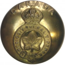 Loyal Regiment (North Lancashire) 25.5mm - 1902-1952 with King's Crown. Brass Military uniform button