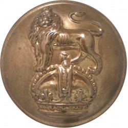 Army Dental Corps - Rimmed 25mm - 1921-1946 King's Crown. Brass Military uniform button
