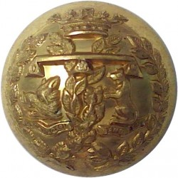 Argyll & Sutherland Highlanders (Princess Louise's) 25mm - Domed  Brass Military uniform button
