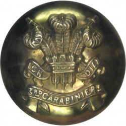 General Service - Royal Arms 24mm - 1902-1952 with King's Crown. Brass Military uniform button