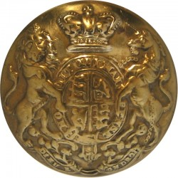 South Wales Borderers 18mm - 1881-1960 Brass Military uniform button