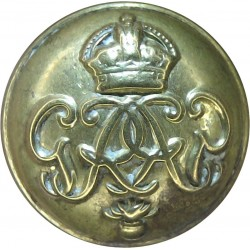 Royal Inniskilling Fusiliers - Flag Right 19.5mm Brass Military uniform button