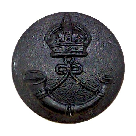 Royal Scots Fusiliers 25mm with King's Crown. Brass Military uniform button