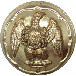 Royal Irish Fusiliers - Officers Quality 25.5mm  Gilt Military uniform button
