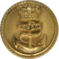 Canada - General Service Button 19mm - Post-1968 Gilt Military uniform button