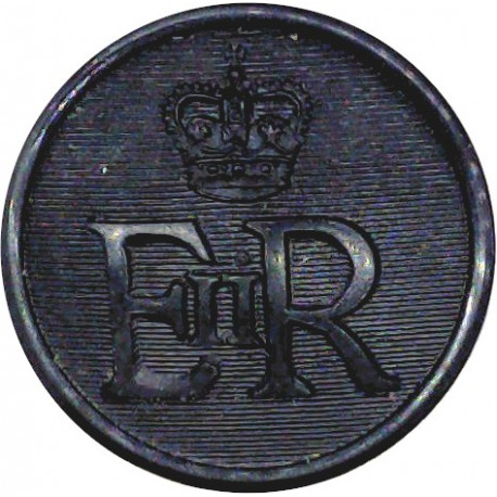 Yorkshire Hussars (Alexandra Princess Of Wales's Own 19mm  Brass Military uniform button
