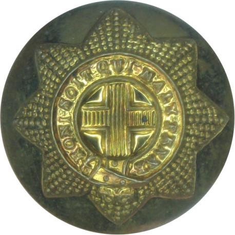 Coldstream Guards 19.5mm - No Rim  Brass Military uniform button