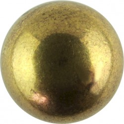 Hussars (Plain - Used By Various Hussar Regiments) 18.5mm Ball Button  Gilt Military uniform button