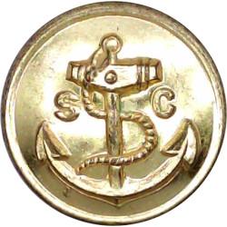 Sea Cadet Corps 23mm  Gilt Military uniform button