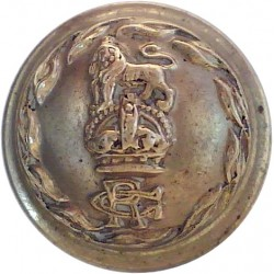Gloucestershire Regiment 19.5mm with King's Crown. Brass Military uniform button