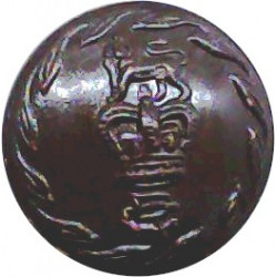York And Lancaster Regiment 14mm Bronze Military uniform button