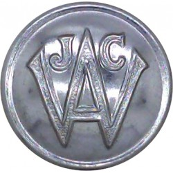 Women's Junior Air Corps - March 1940 - August 1942 19.5mm  Chrome-plated Military uniform button