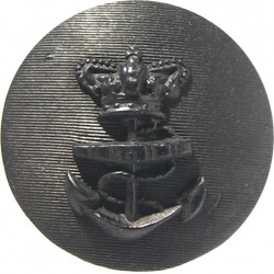 Honourable Artillery Company (Artillery) 18.5mm with King's Crown. Brass Military uniform button