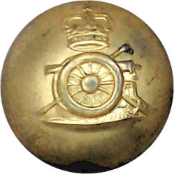 Imperial Yeomanry 19.5mm - 1902-1908 with King's Crown. Brass Military uniform button