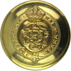 Royal Fusiliers (City Of London Regiment) 19mm - 1902-1952 with King's Crown. Brass Military uniform button