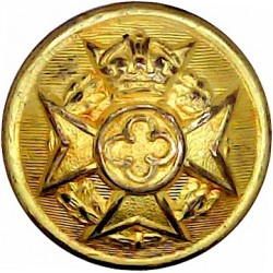Indian Engineers 17mm - 1922-1947 Brass Military uniform button