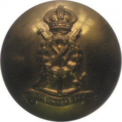 Royal Pioneer Corps 19mm - 1940-1952 with King's Crown. Brass Military uniform button