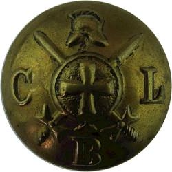 Church Lads' Brigade 24.5mm  Brass Military uniform button