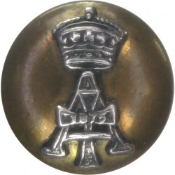 Green Howards 15mm - Post-1903  Bronze Military uniform button