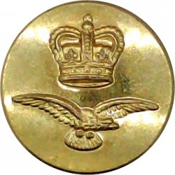 540th (Lovat Scouts) Light Anti-Aircraft Regiment RA 26.5mm Gilt Military uniform button