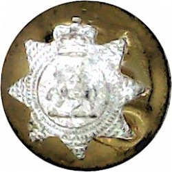 Australian Military Forces 25mm with King's Crown. Brass Military uniform button